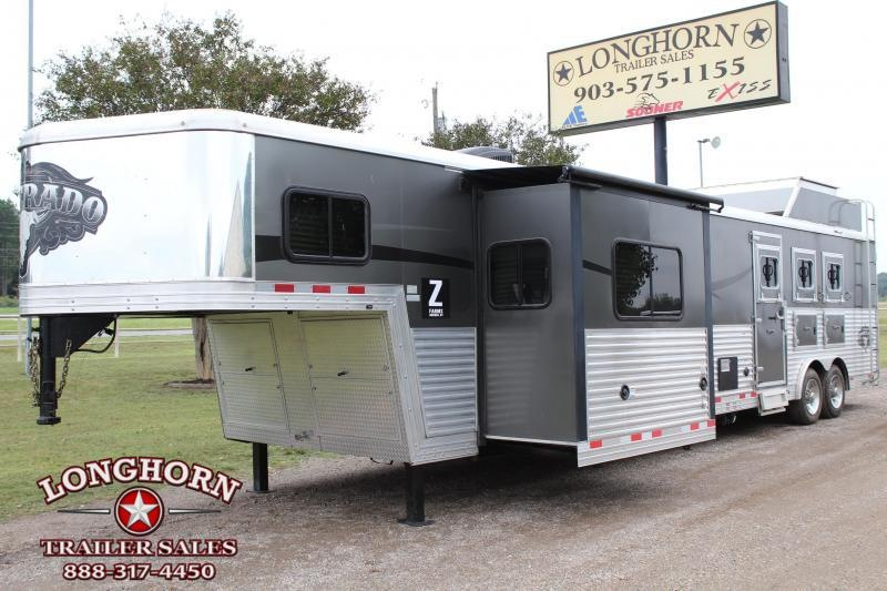 2015 Bison Trailers 3 Horse 16ft LQ w/Slide VIRTUAL TOUR