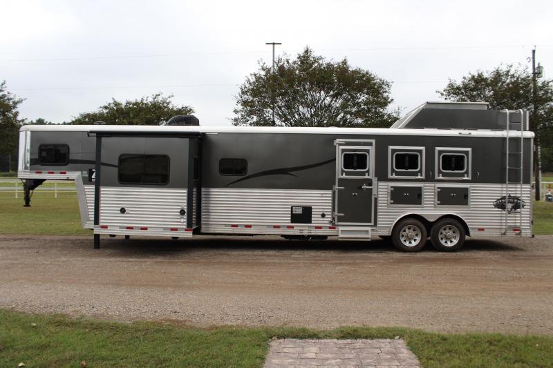 2015 Bison Trailers 3 Horse 16ft LQ w/Slide VIRTUAL TOUR