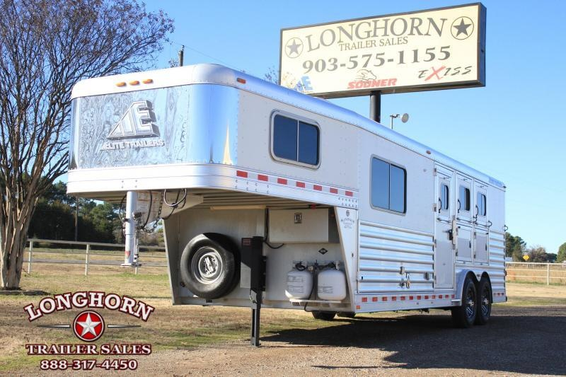 "2011 Elite 3 Horse 8'8"" Lq / Mangers"