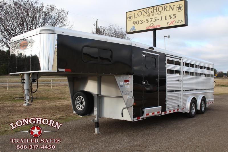 2019 Sundowner  8ft x 24ft Show Cattle with Float Gate Livestock Trailer
