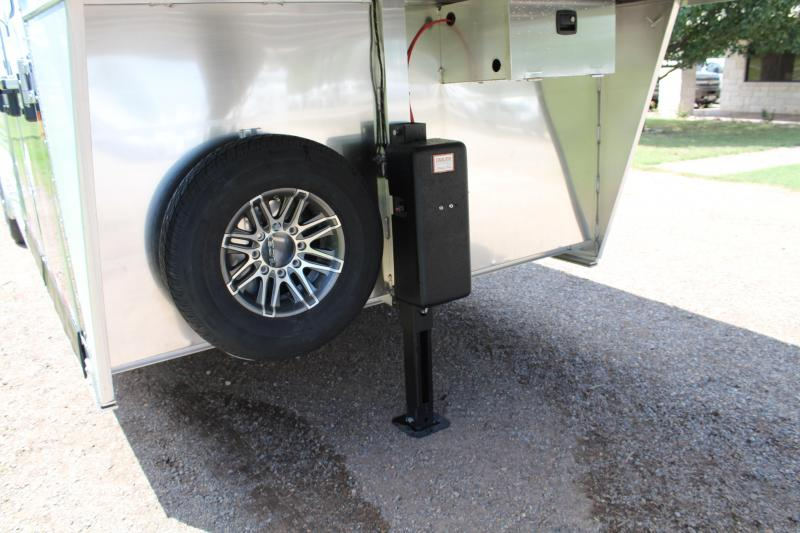2020 Exiss Trailers 25' Stock Combo w/ Two side Ramps