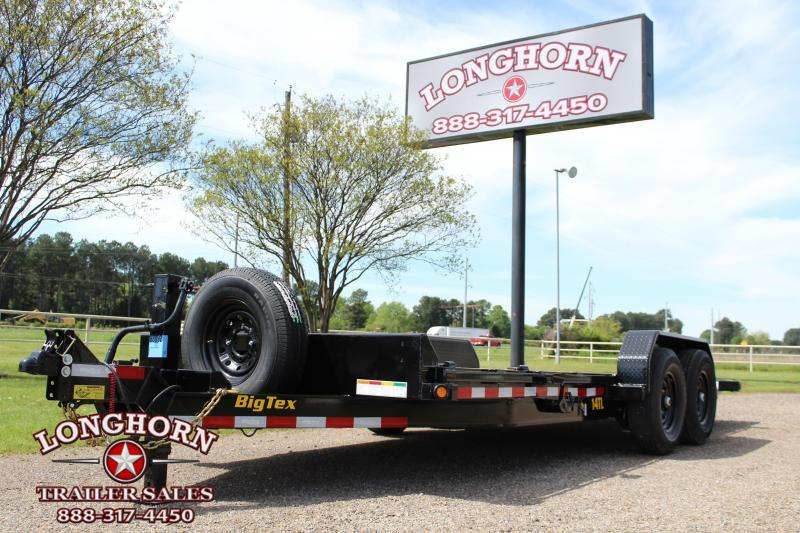2020 Big Tex Trailers 20ft Tilt Trailer with Construction
