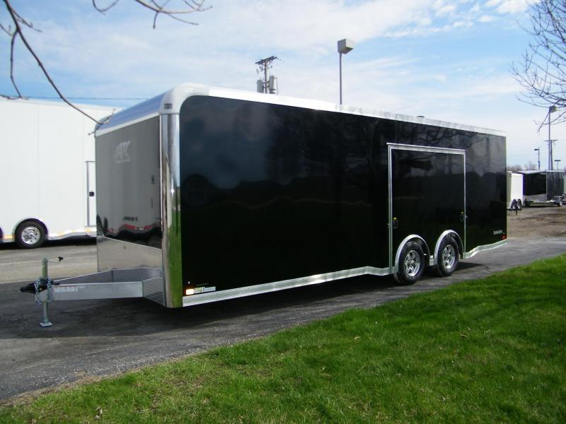 2020 ATC Raven 8.5x24 Aluminum Enclosed Car / Racing Trailer