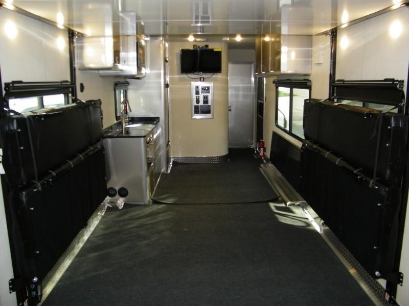 2020 ATC Custom 28ft Front Bedroom Aluminum Toy Hauler