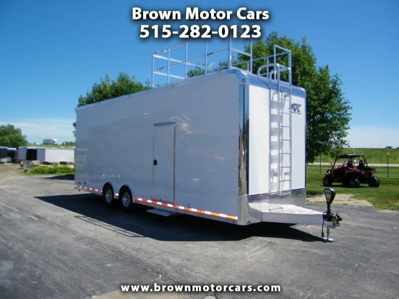 2020 ATC Sprint Series 8.5x28 Aluminum Car Hauler