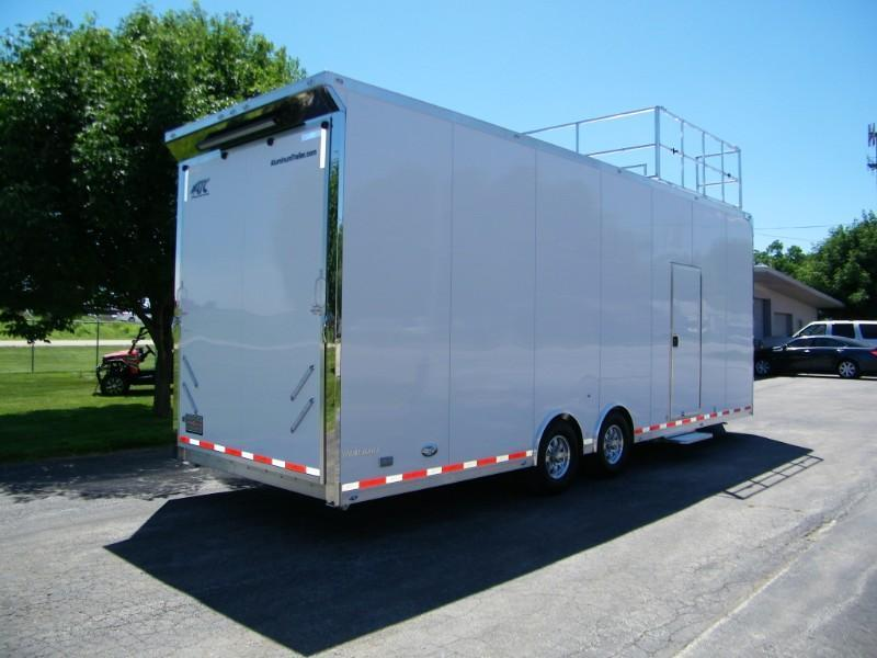 2020 ATC Sprint Series 8.5x28 Aluminum Car Hauler