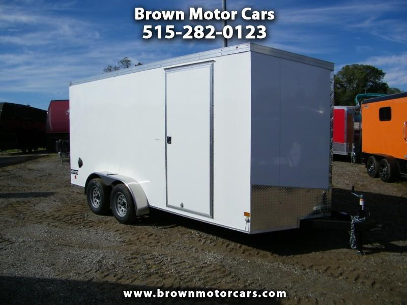 2020 Haulmark Transport 7x16 V-Nose Enclosed Cargo Trailer