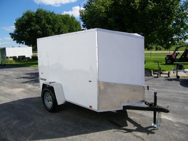 2019 Formula Conquest 5x8 Enclosed Cargo Trailer