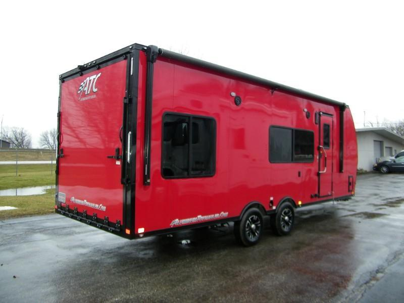 2019 ATC Custom 8.5x24 All Aluminum Toy Hauler