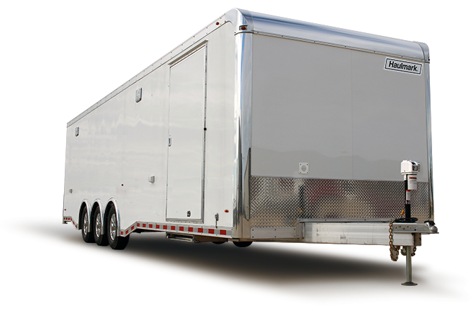 2020 Haulmark HAR 8.5x28 Aluminum Enclosed Car / Racing Trailer