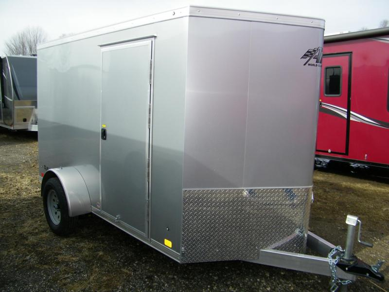 2020 ATC Raven 6x10 Enclosed Aluminum Trailer Enclosed Cargo Trailer