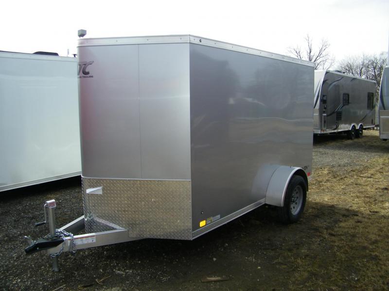 2020 ATC Raven 6x10 Enclosed Aluminum Trailer Enclosed Cargo Trailer