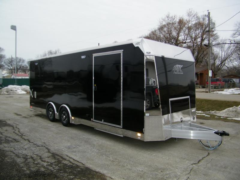 2020 ATC Quest X 8.5x24 Aluminum Car Hauler Trailer Car / Racing Trailer