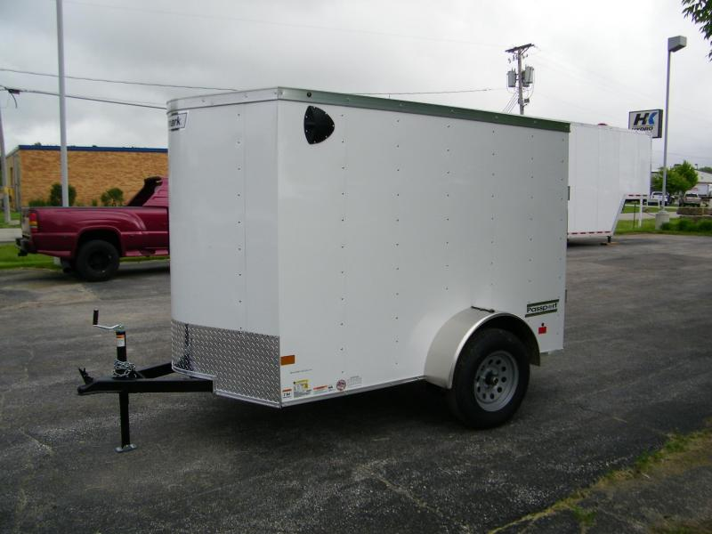 2020 Haulmark Passport 5x8 Enclosed Cargo Trailer