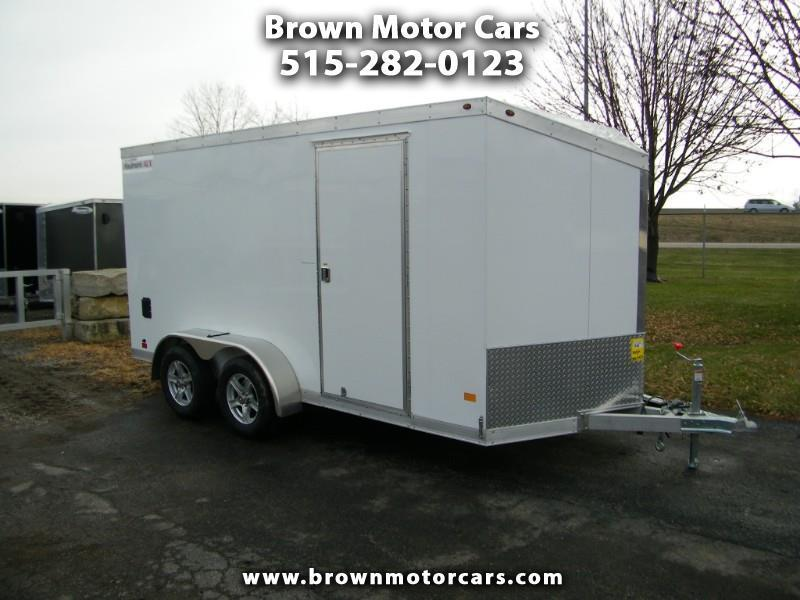 2019 Haulmark HAUV 7x14 V-Nose Enclosed Cargo Trailer