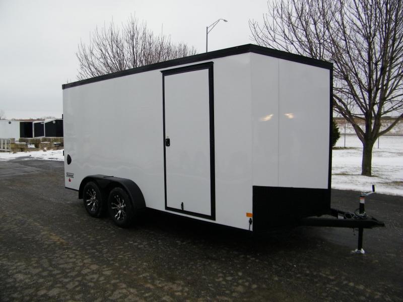 2020 Haulmark Transport V-Nose 7x16 w/Phantom Pkg Enclosed Cargo Trailer