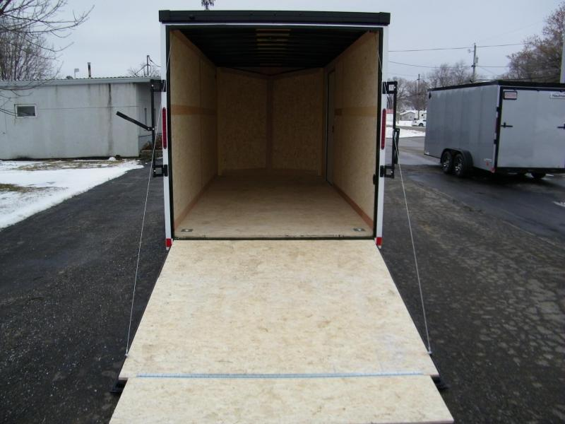2020 Haulmark Transport V-Nose 7x16 w/Phantom Pkg Enclosed Cargo Trailer