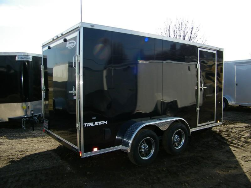 2020 Formula Triumph 7x14 V-Nose Enclosed Cargo Trailer