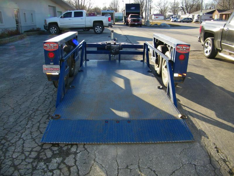 2014 Air Tow T14-10 Tandem Axle Flatbed Flatbed Trailer