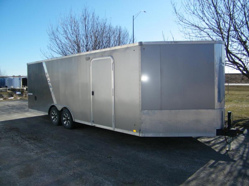 2014 Look Trailers 8.5x27 Combo Enclosed Trailer Enclosed Cargo Trailer