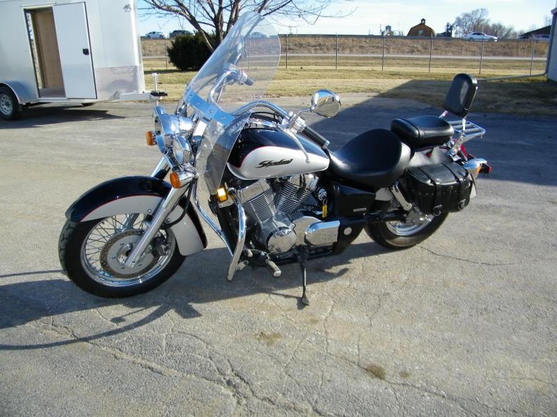 2004 Honda Shadow 750 Motorcycle