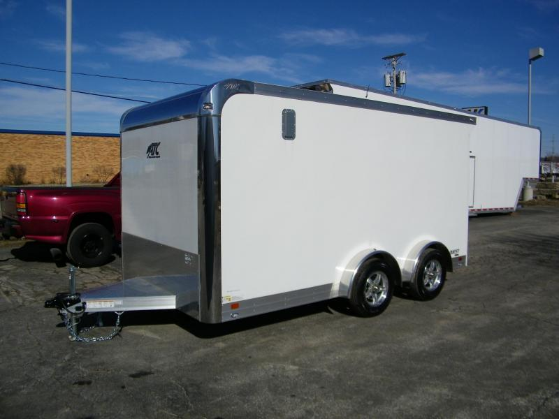 2020 ATC Quest 7.5x14 Aluminum Enclosed Cargo Trailer