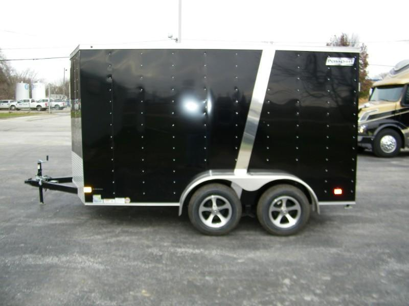 2019 Haulmark Passport 7x12 V-Nose Enclosed Trailer