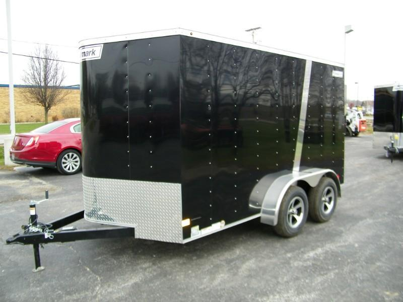 2019 Haulmark Passport 7x12 V-Nose w/Extra Height and Finished Int. Walls