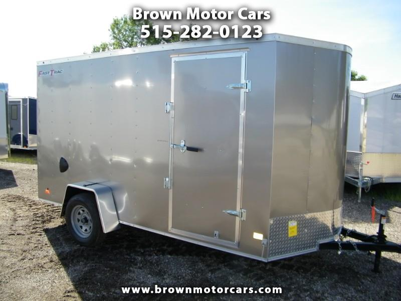 "2019 Wells Cargo  6x12 V-Nose Enclosed Cargo Trailer w/ 6"" Extra Height"