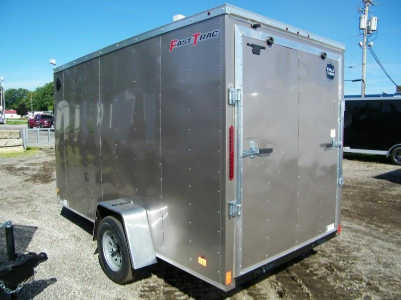 """2019 Wells Cargo  6x12 V-Nose Enclosed Cargo Trailer w/ 6"""" Extra Height"""