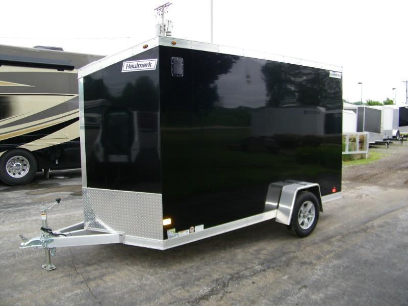2019 Haulmark HAUV6X12DS All Aluminum Enclosed Trailer w/7ft Height