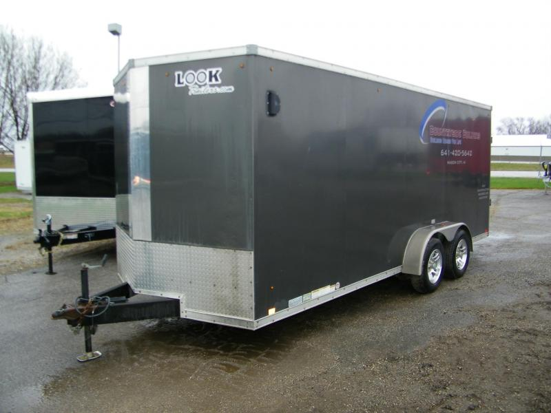 2012 Look Trailers 7x18 Enclosed Cargo Trailer Enclosed Cargo Trailer