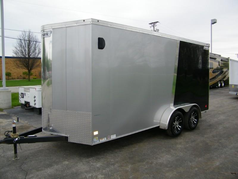 2019 Haulmark Transport 7x16 V-Nose Enclosed Finished Interior & Extra Height
