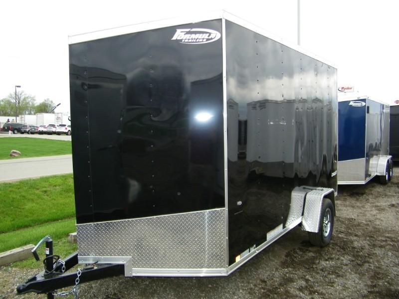 2019 Formula Conquest 7x12 V-Nose Enclosed Cargo Trailer