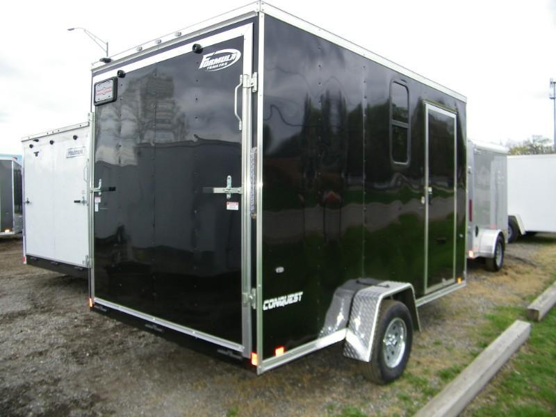2019 Formula Conquest 7x12 V-Nose Enclosed Cargo Trailer