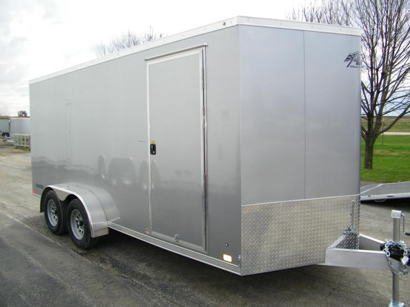 2020 ATC Raven 7x16 Aluminum Enclosed Cargo Trailer