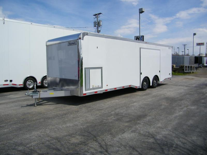 2020 Haulmark HAR8.5X28WT4 Aluminum Car / Racing Trailer Enclosed