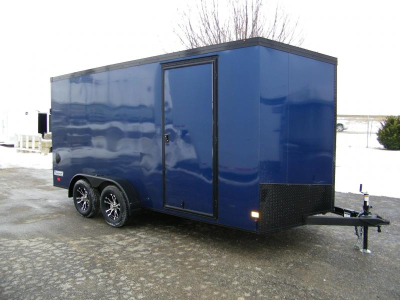 2020 Haulmark Transport 7x16 V-Nose w/Phantom Pkg Enclosed Cargo Trailer