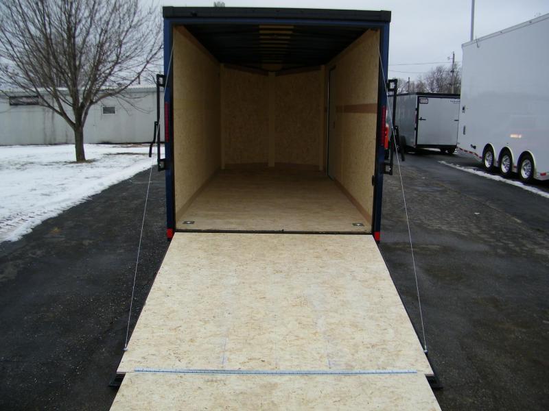 2020 Haulmark Transport 7x16 V-Nose w/Phantom Pkg Enclosed Cargo Trailer
