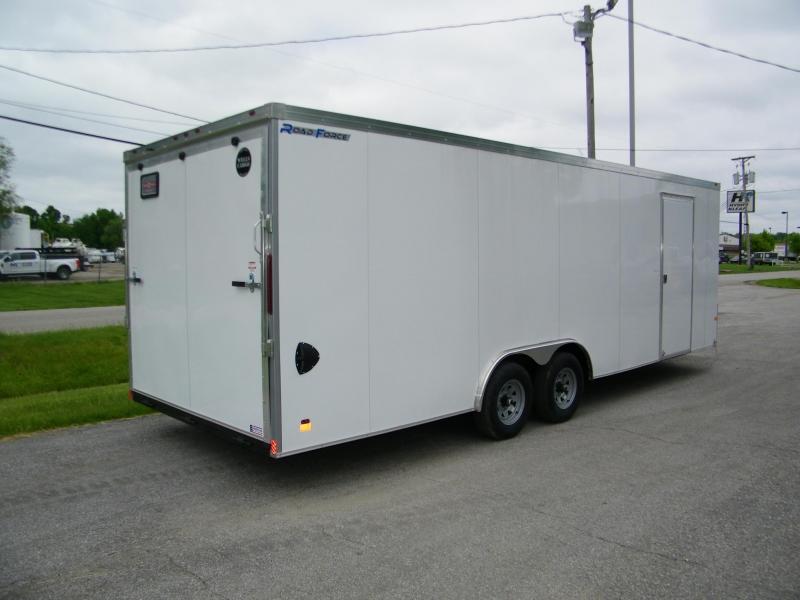 2020 Wells Cargo Road Force V-Nose 8.5x24 Enclosed Car / Racing Trailer