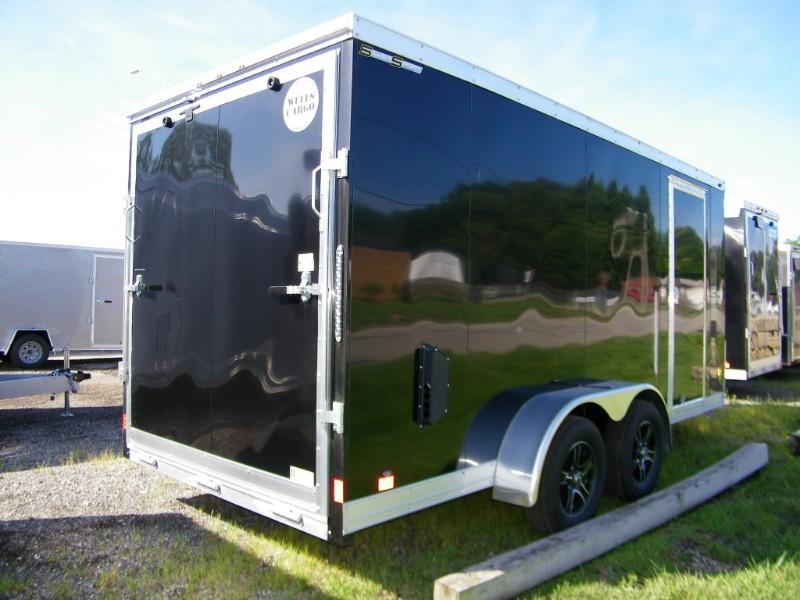 2019 Wells Cargo WAUV 7x16 Aluminum Enclosed Cargo Trailer