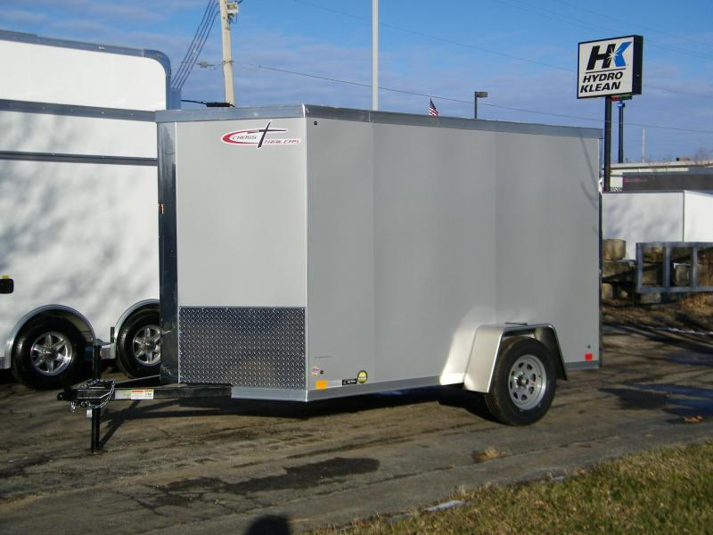 2020 Cross Trailers Alpha 6 x 10 Enclosed Cargo Trailer