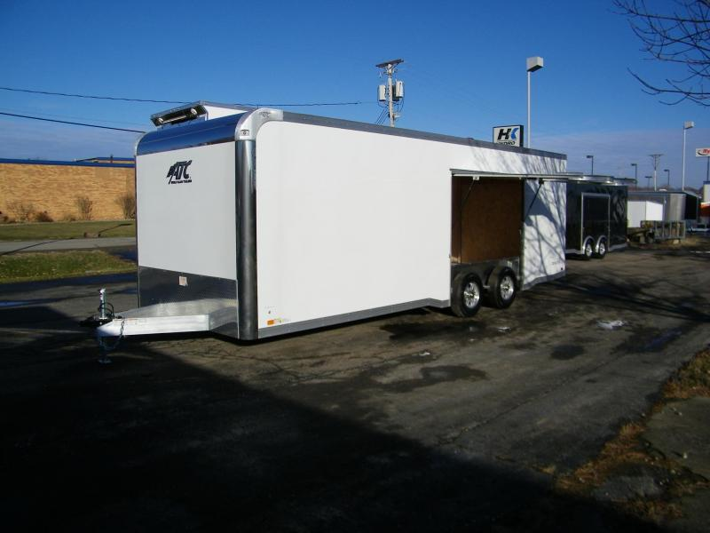 2020 ATC Raven 8.5x24 Aluminum w/Premium Escape Door Car / Racing Trailer