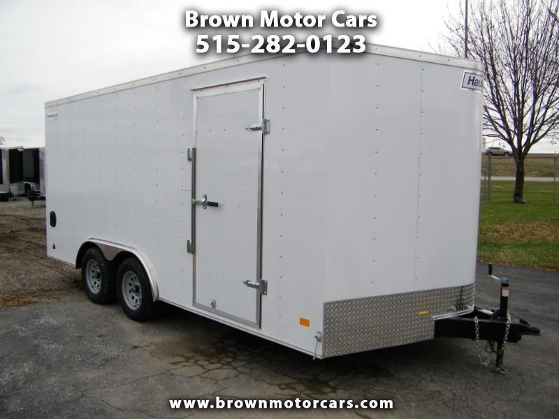 2019 Haulmark Passport 8.5x16 V-Nose Enclosed Trailer