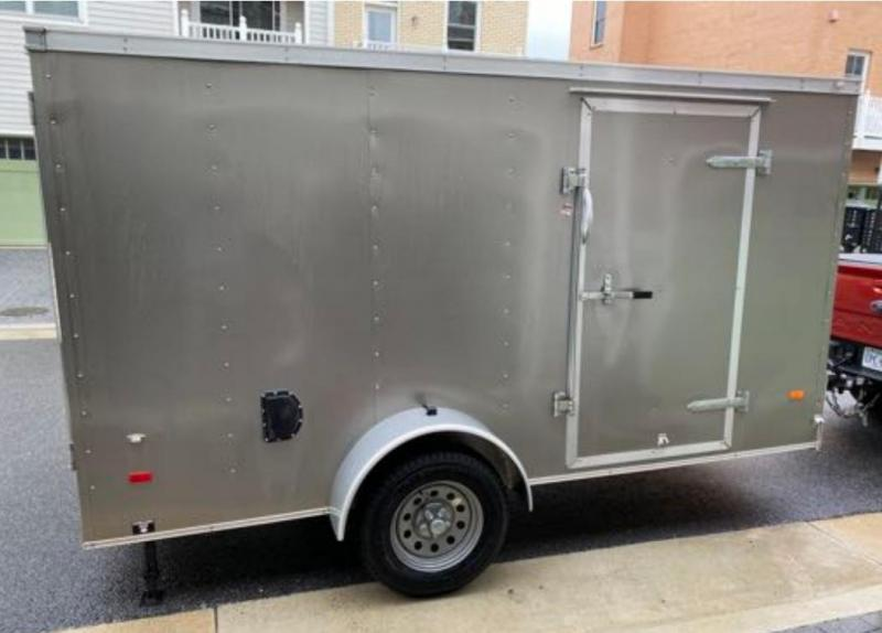 2016 American Hauler Industries 6 x 12 Enclosed Cargo / Motorcycle Trailer