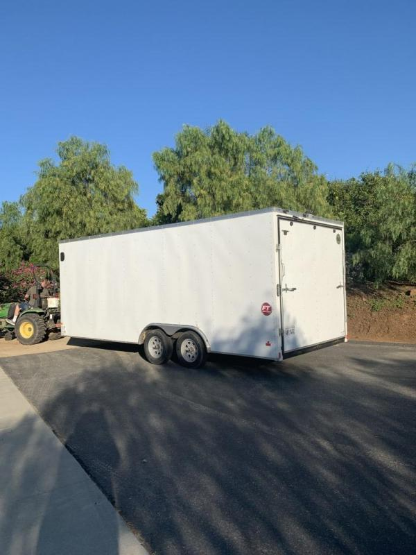 2016 Wells Cargo 8.5 x 20 Enclosed Cargo / Car Trailer