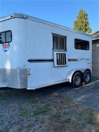2011 Sundowner Sunlite 737 2 Horse Straight Load