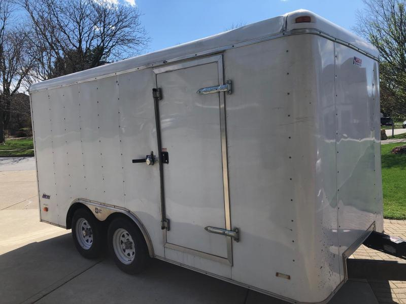 2008 Pace American 8 x 14 Enclosed Cargo Trailer