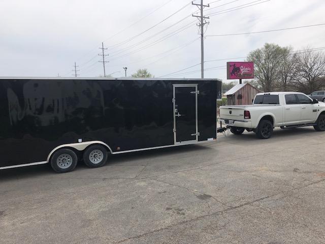 2019 Cargo Mate 8.5 x 28 Enclosed Car Hauler