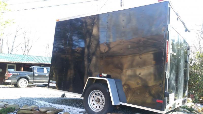 2017 Pearson SGAC 7 x 10 Custom Built Enclosed Cargo Trailer